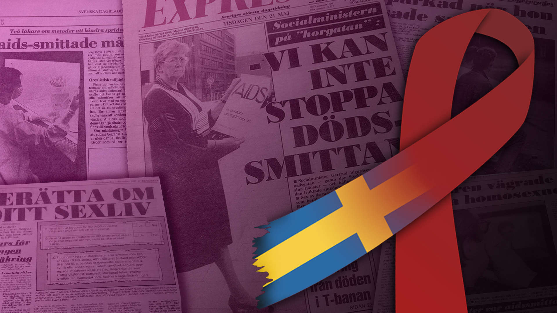 Theme - Activism, healthcare & politics - the swedish HIV and AIDS history